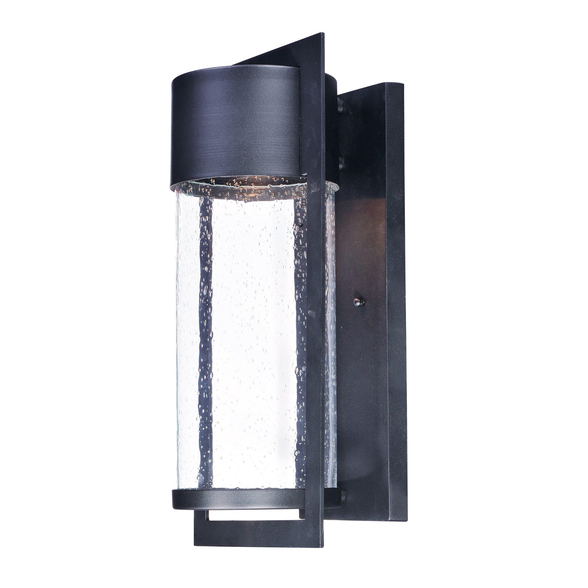Flush mount outdoor lighting - Caulder 1 Light Outdoor Flush Mount