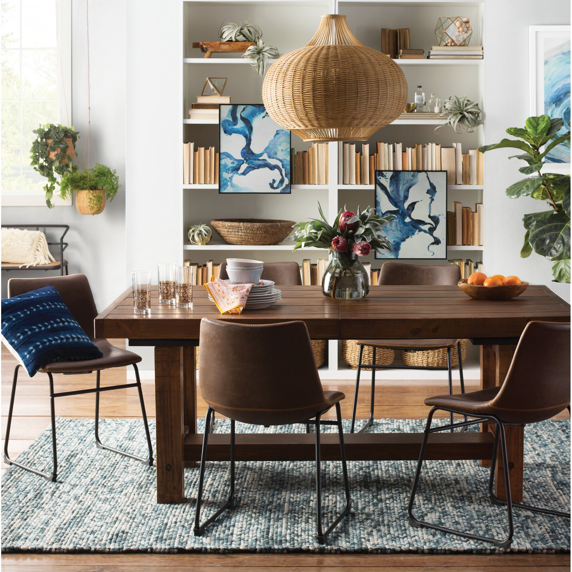 Loon Peak Etolin Extendable Dining Table & Reviews | Wayfair