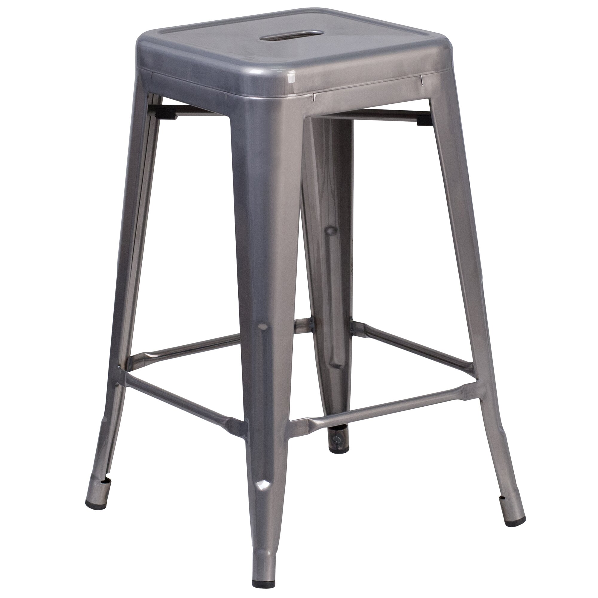 Williston Forge Frank Backless Metal 24 25 Quot Bar Stool