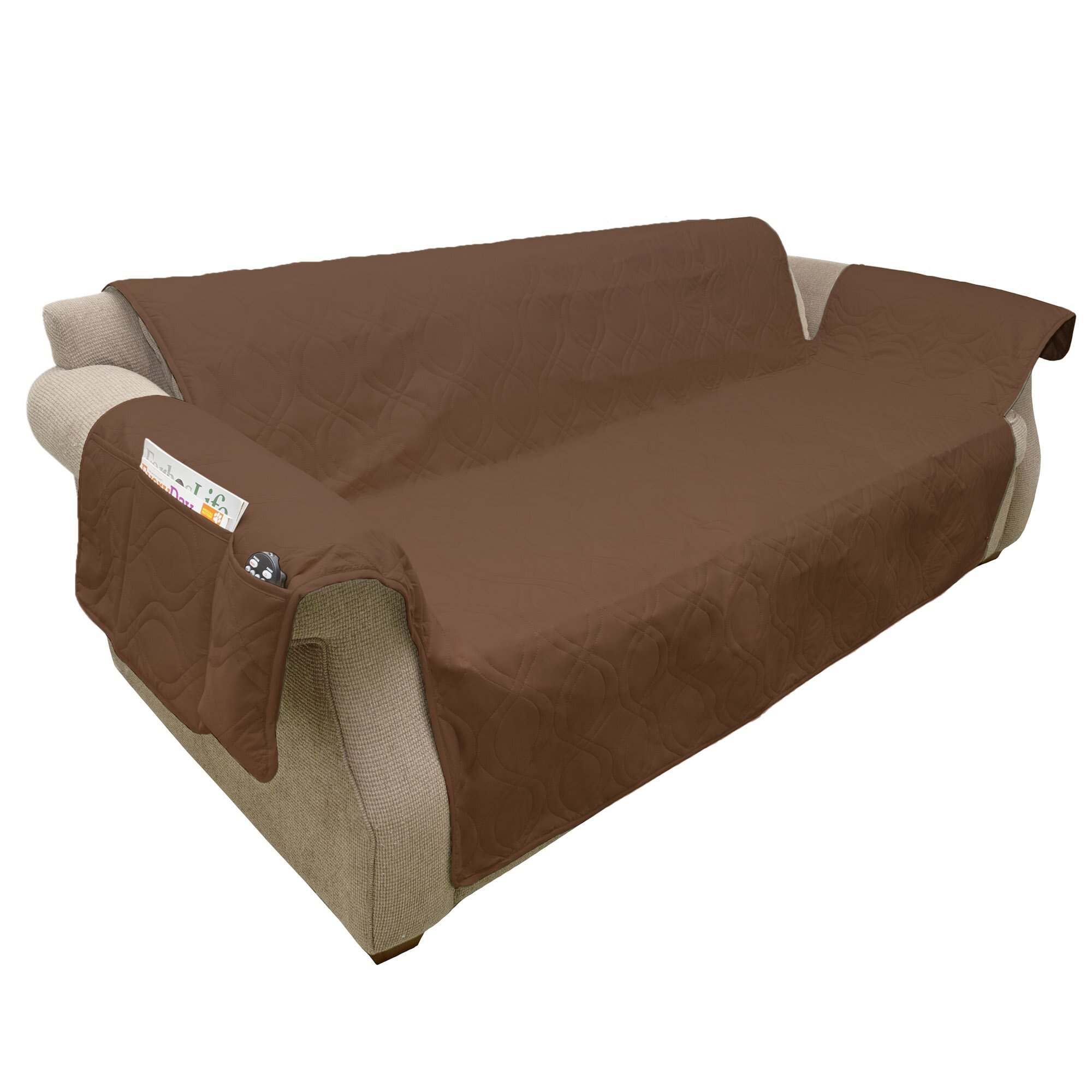 Petmaker Waterproof Quilted Polyester Sofa Slipcover