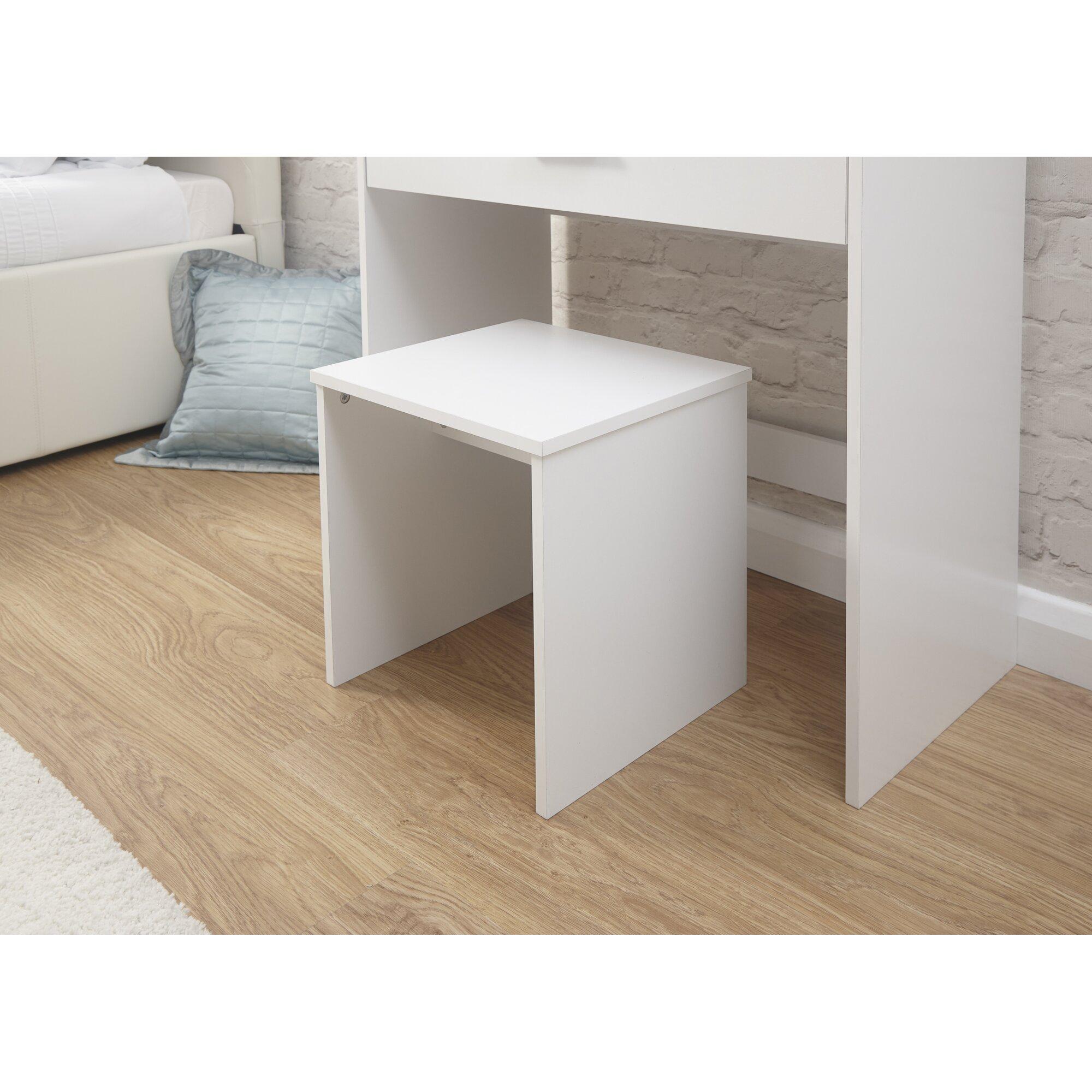 modern you schminktisch set uli mit spiegel bewertungen. Black Bedroom Furniture Sets. Home Design Ideas