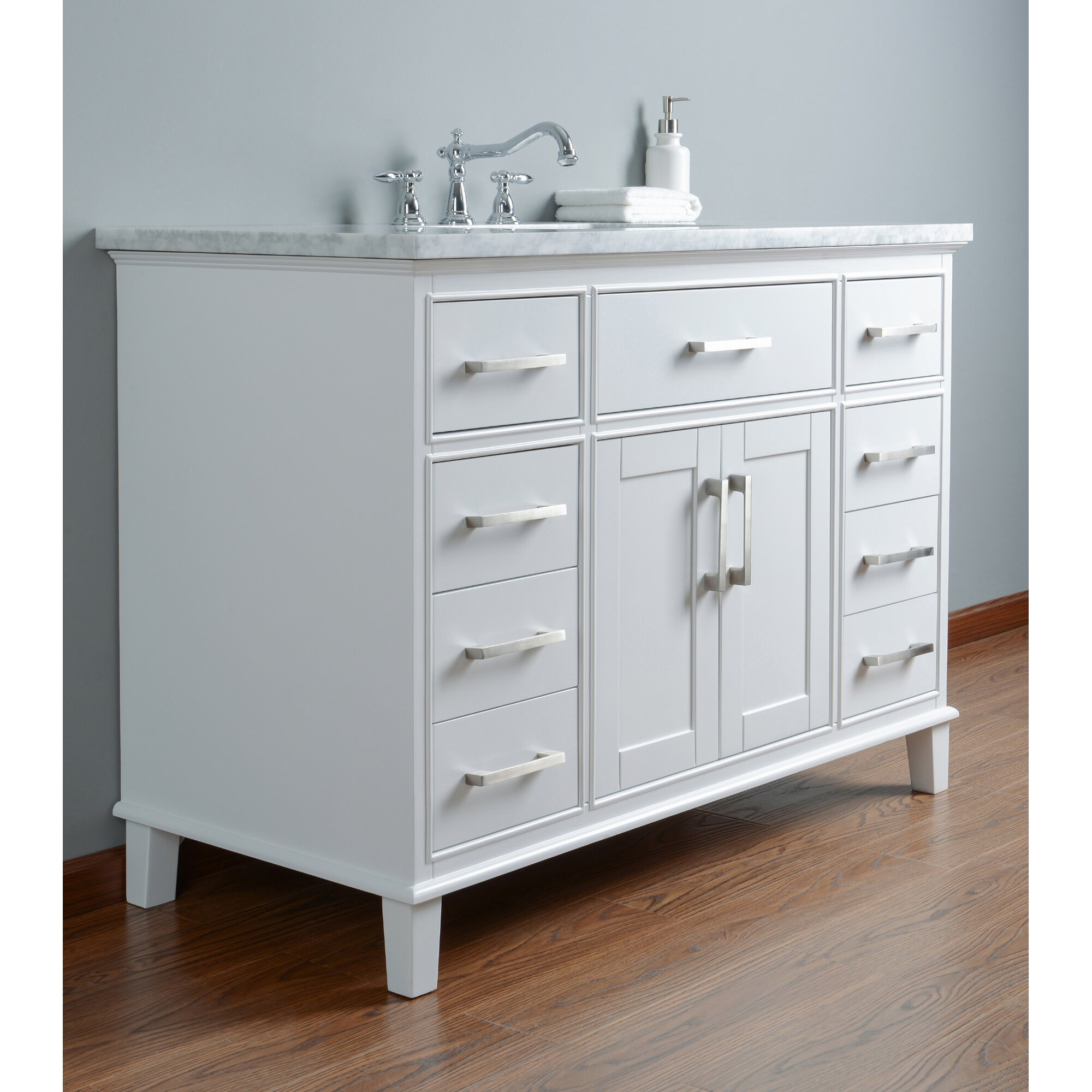 Dcor Design Leigh 48 Single Bathroom Vanity Set