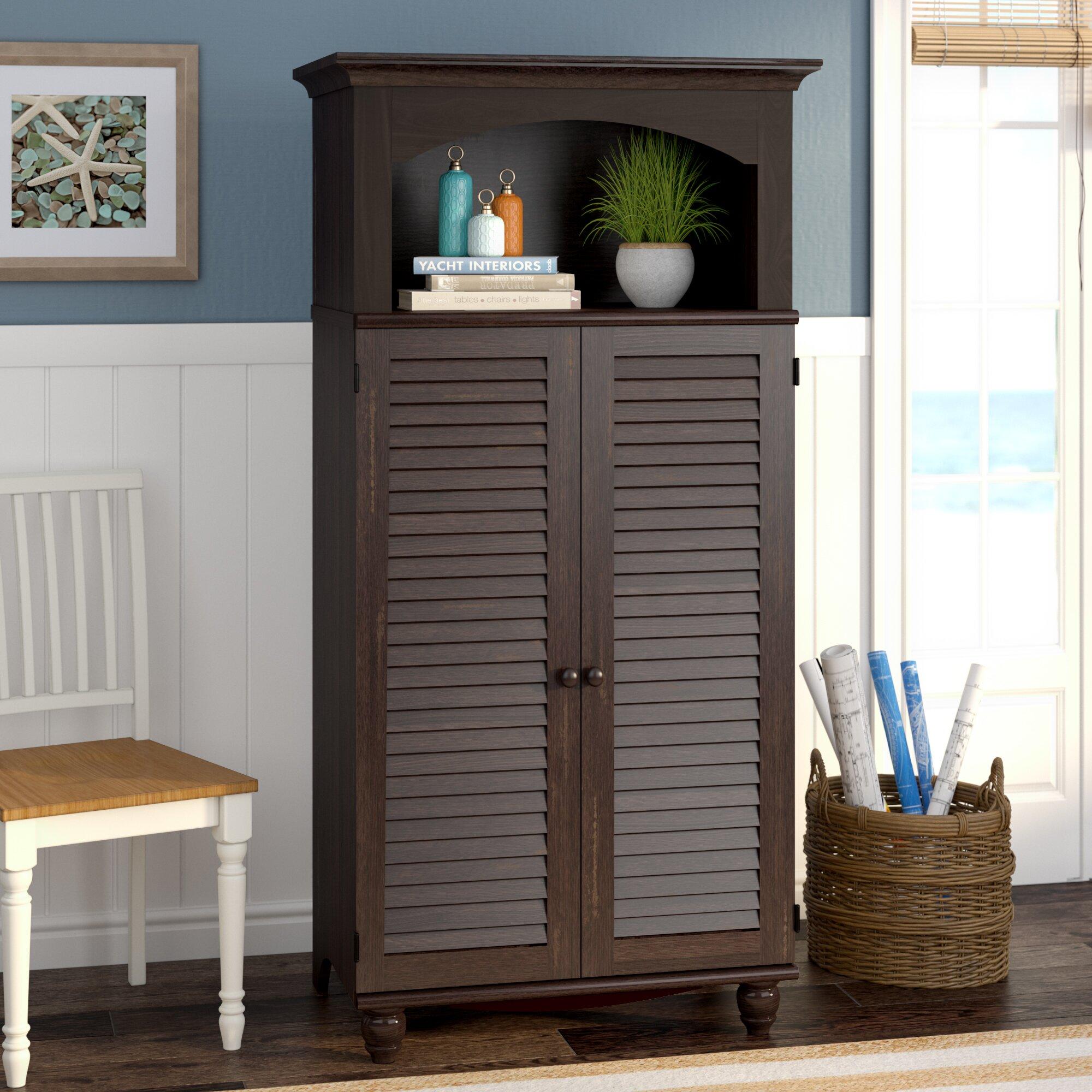 Beachcrest Home Pinellas Armoire Desk & Reviews