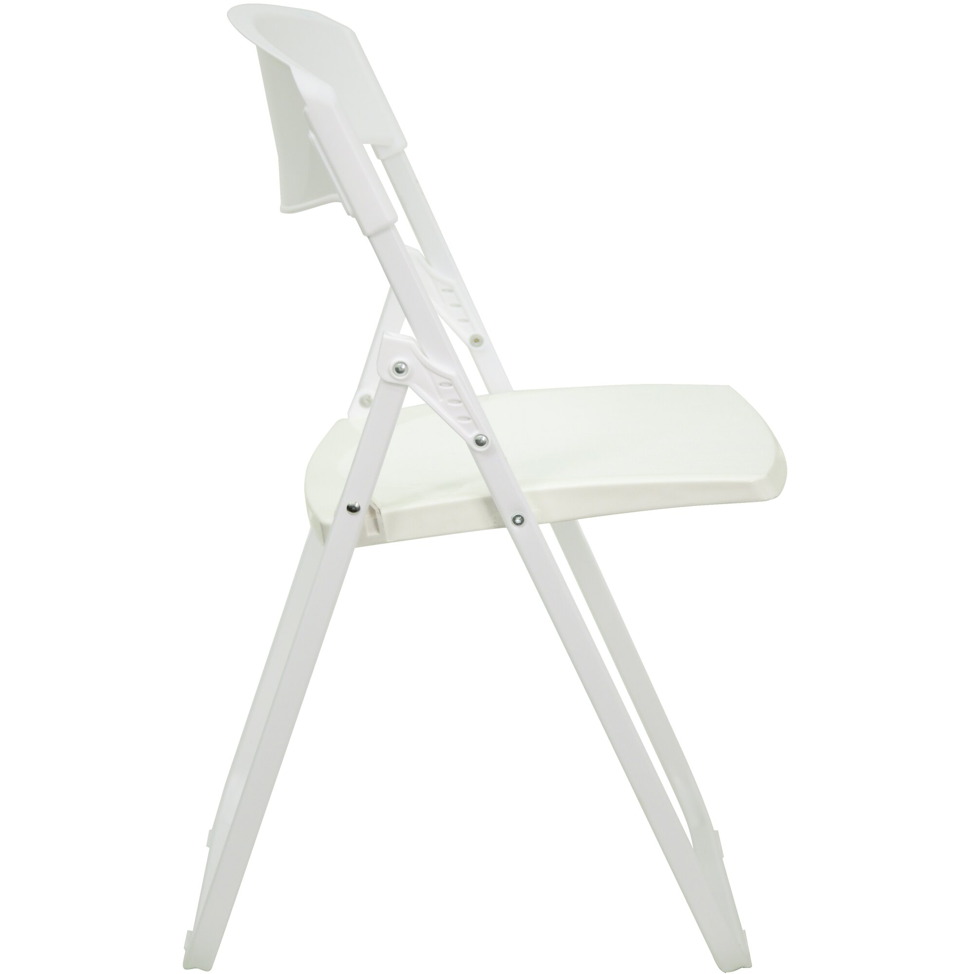 Awesome White Plastic Folding Chairs New