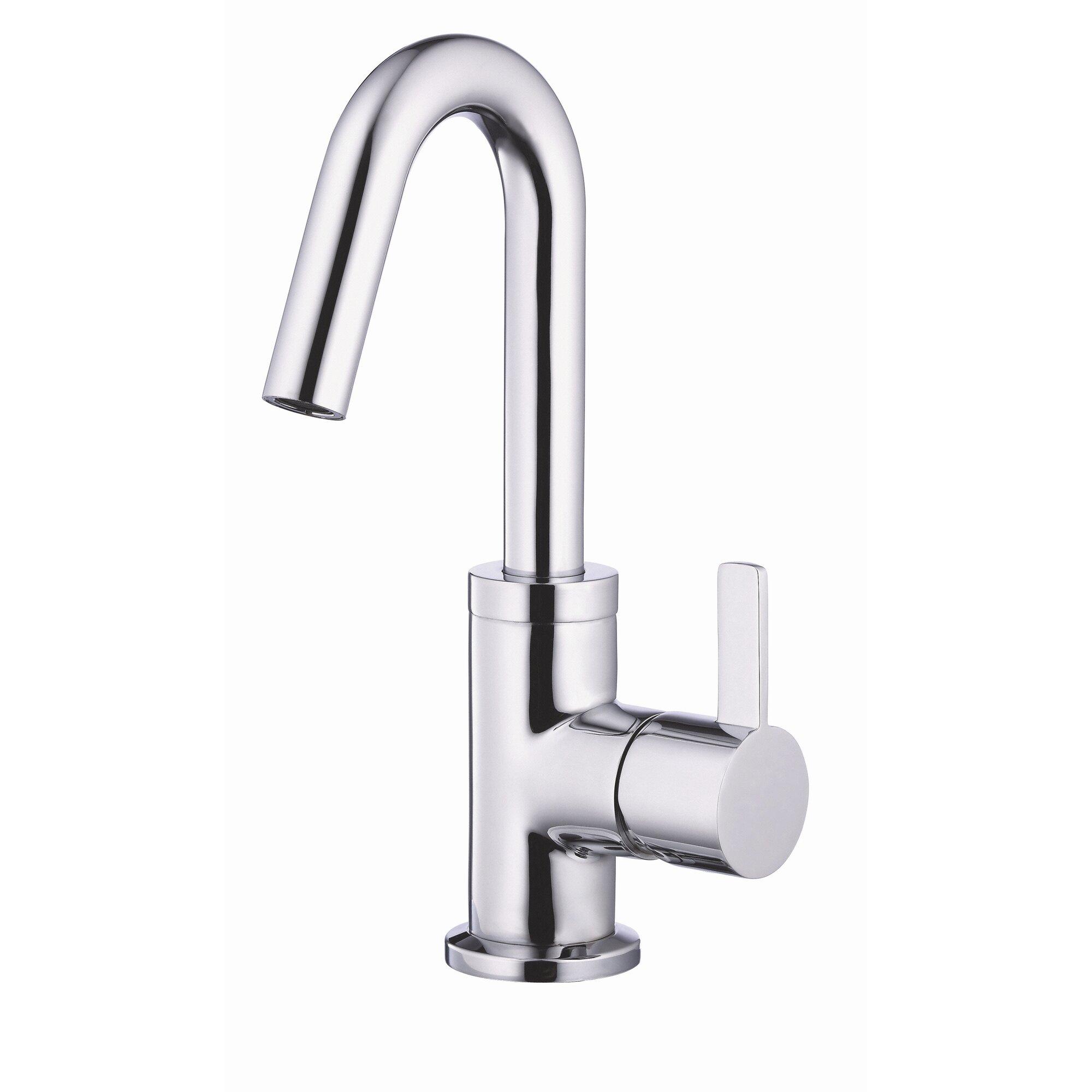 Cross Handle Bathroom Faucet Danze Amalfi Single Handle Single Hole Bathroom Faucet Reviews