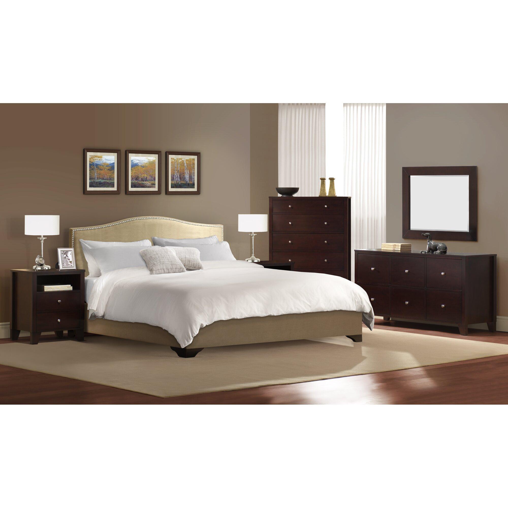 LifeStyle Solutions Magnolia Platform 5 Piece Bedroom Set ...