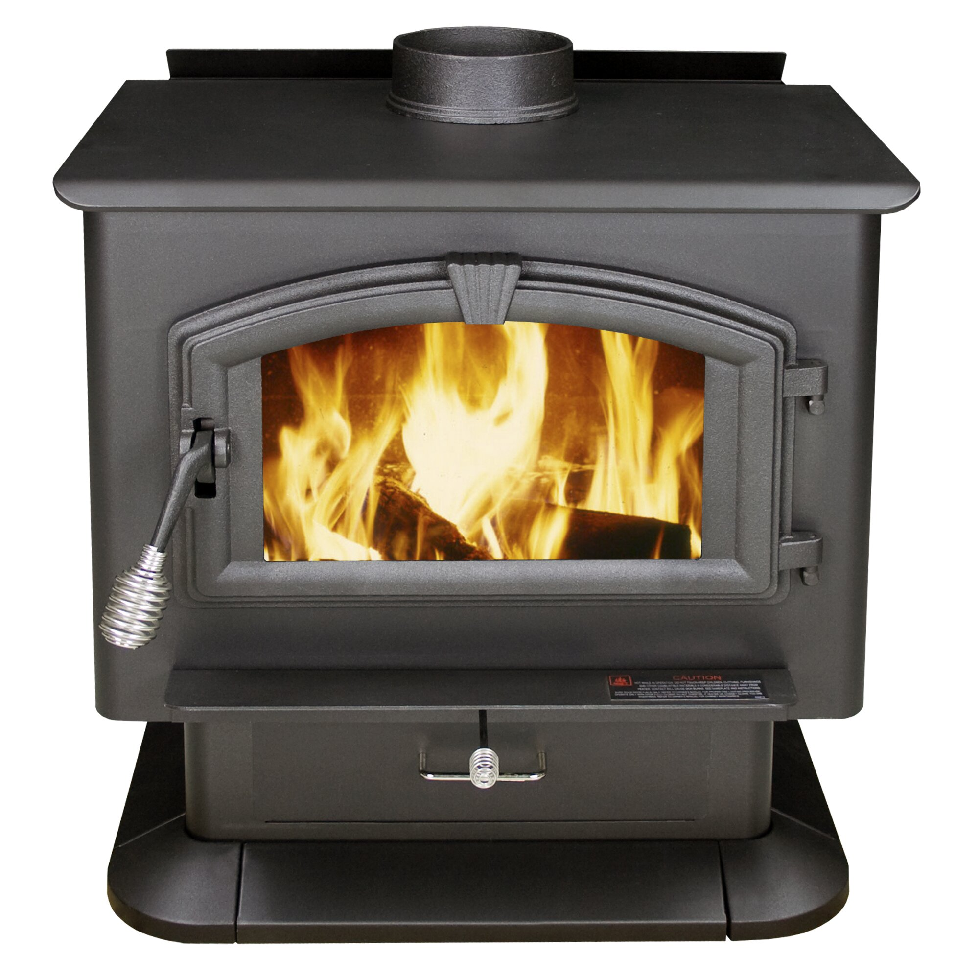 US Stove 3,000 sq. ft. Direct Vent Wood Stove & Reviews | Wayfair