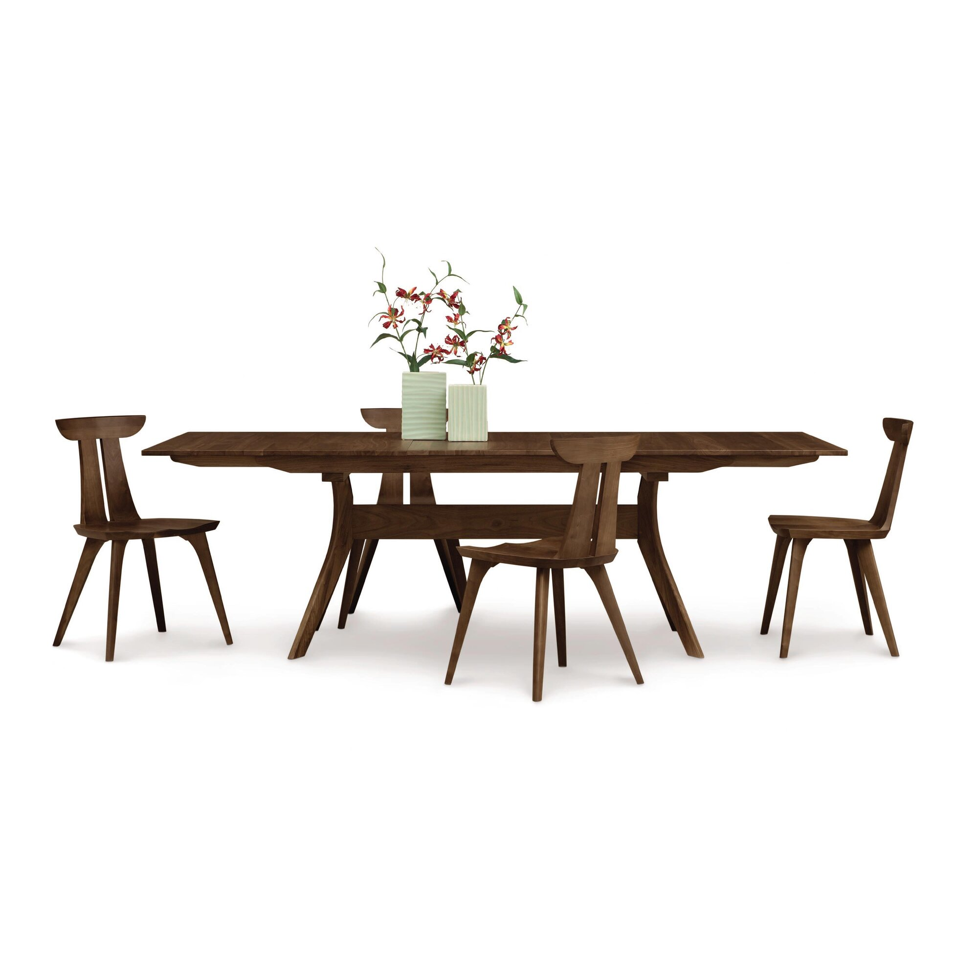 Copeland furniture audrey 7 piece dining set reviews for Furniture 7 reviews