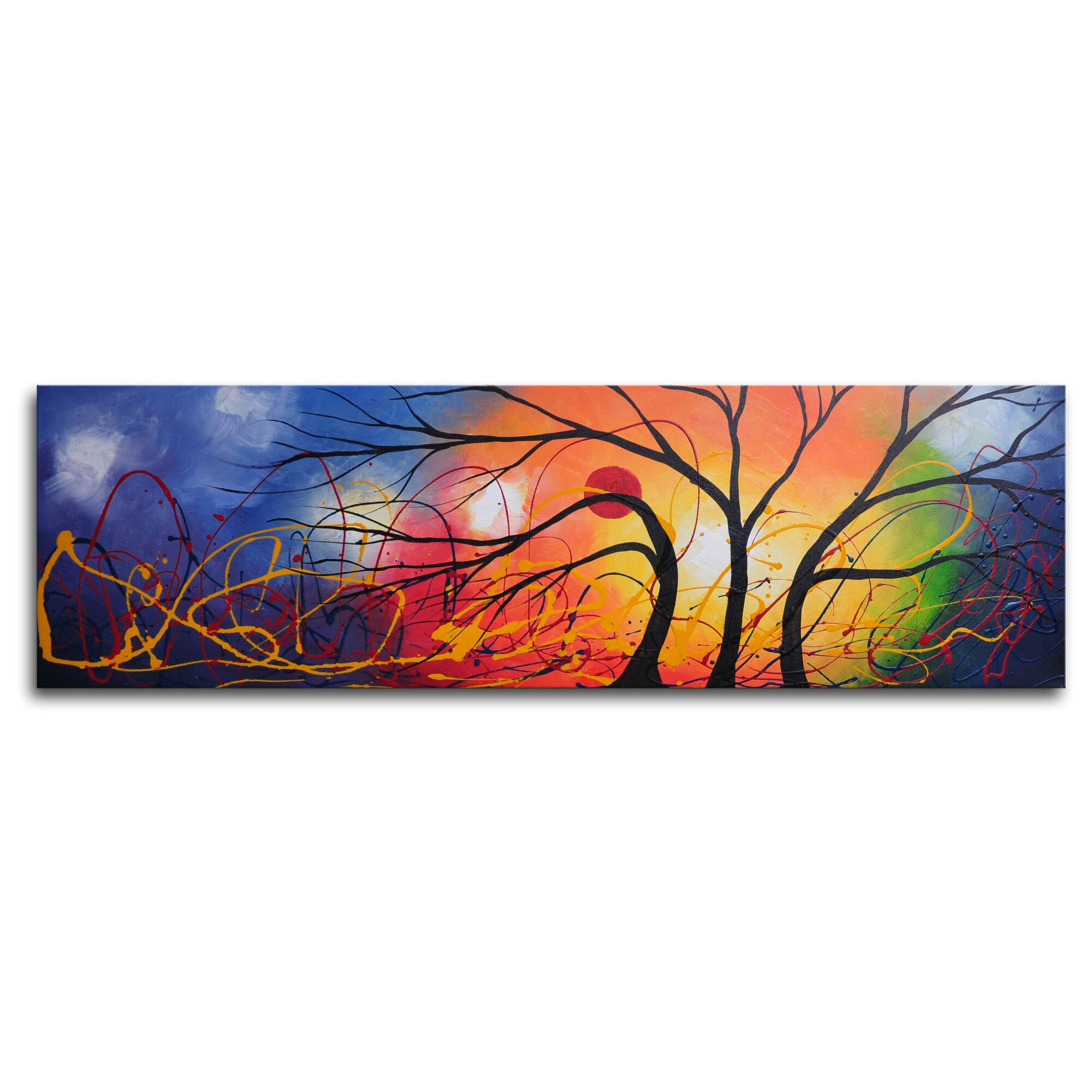 Ethereal Trees Dance Painting On Canvas Path Of Exile Atziri Ethereal Knives