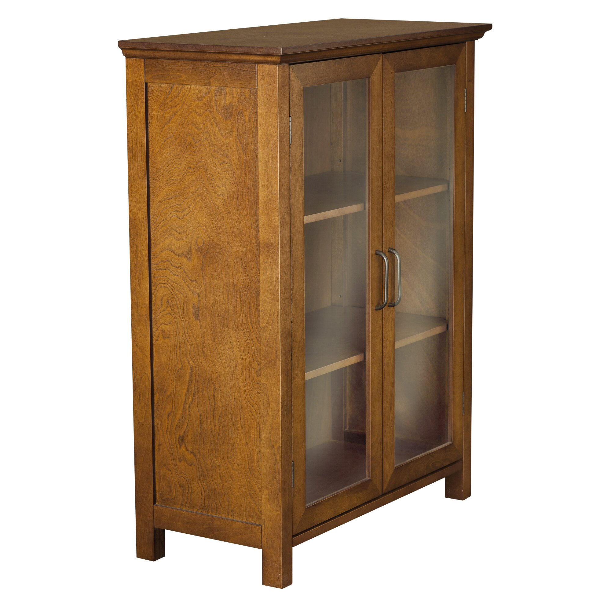 """Free Standing Kitchen Cabinets With Glass Doors: Elegant Home Fashions Avery 26"""" W X 34"""" H Cabinet"""