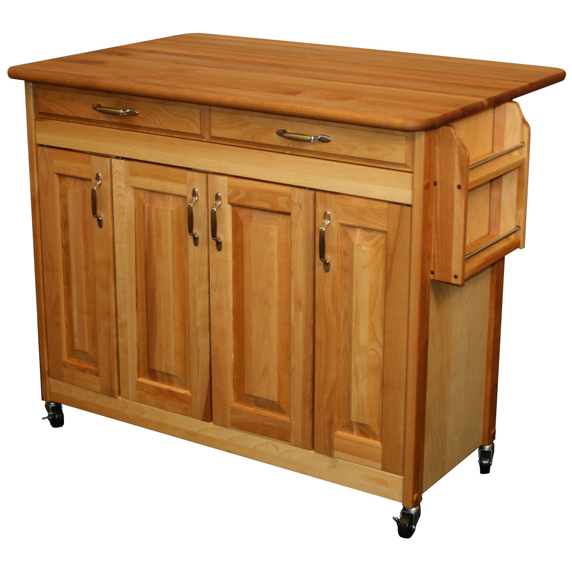 Catskill Craftsmen Kitchen Island Reviews Wayfair