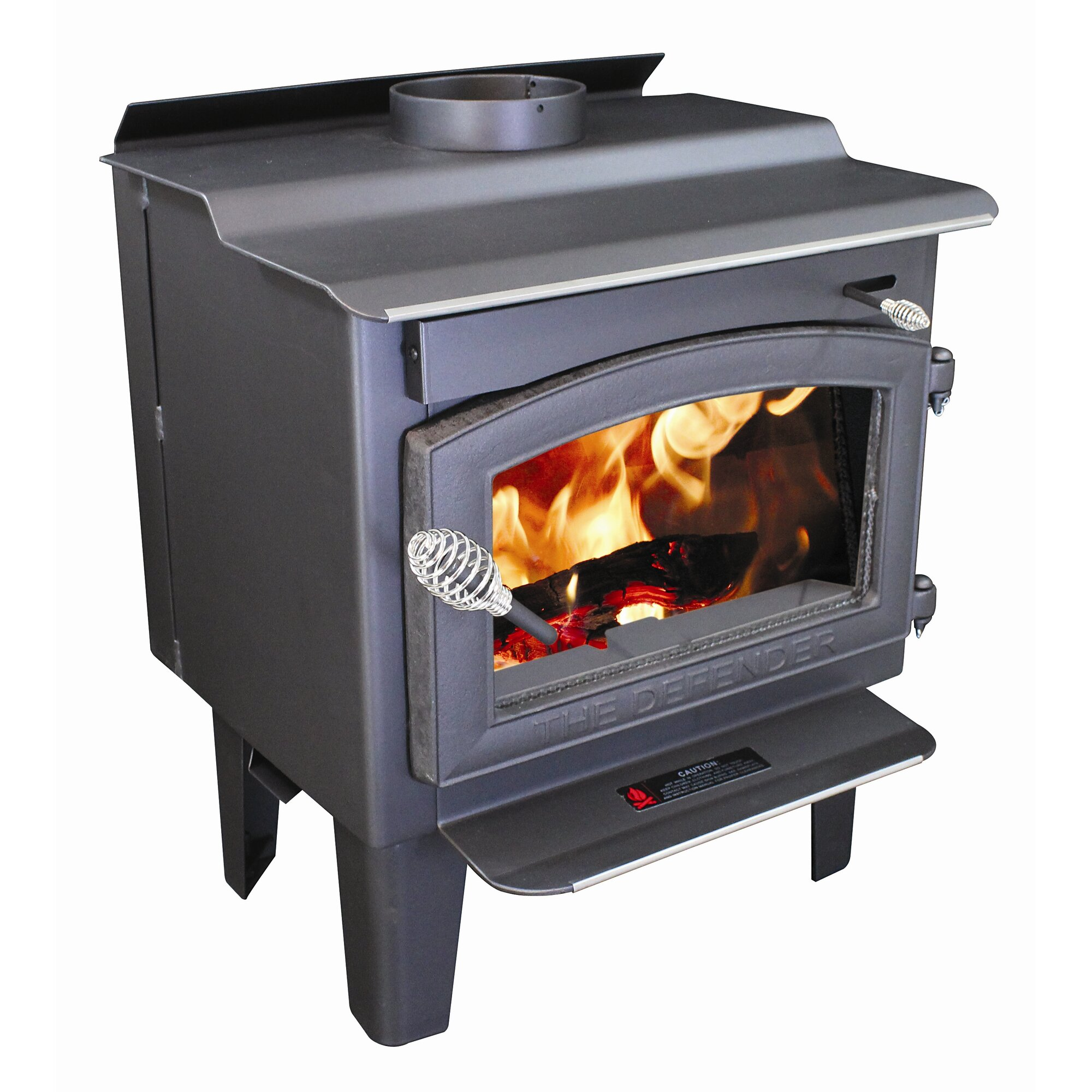 Vogelzang Defender 1,200 sq. ft. Direct Vent Wood Stove & Reviews ...