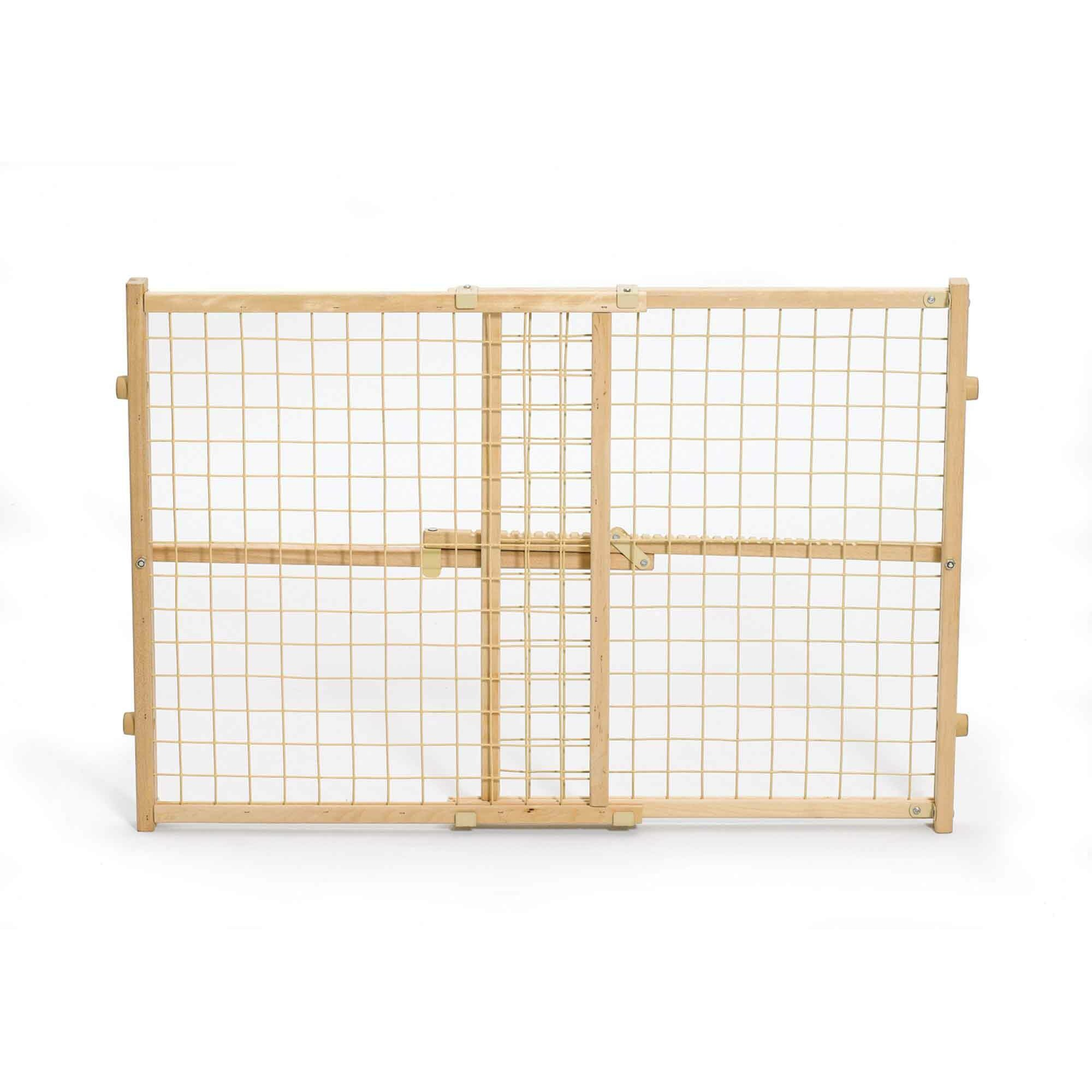 Midwest homes for pets wire mesh wood pet gate reviews