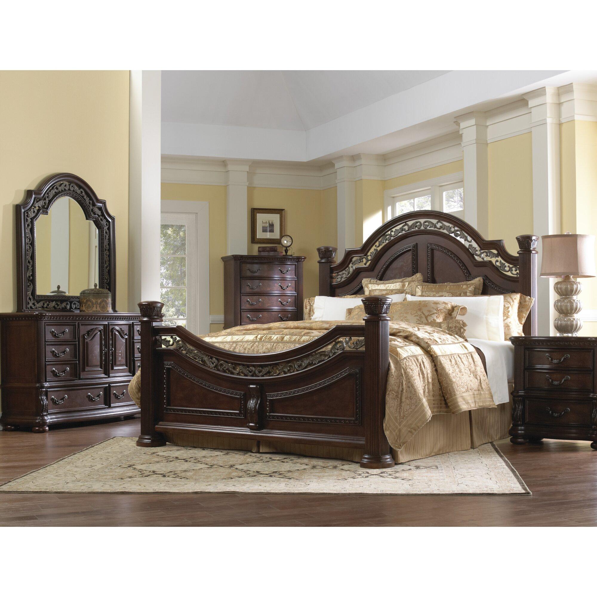 Samuel Lawrence San Marino Panel Bed & Reviews | Wayfair