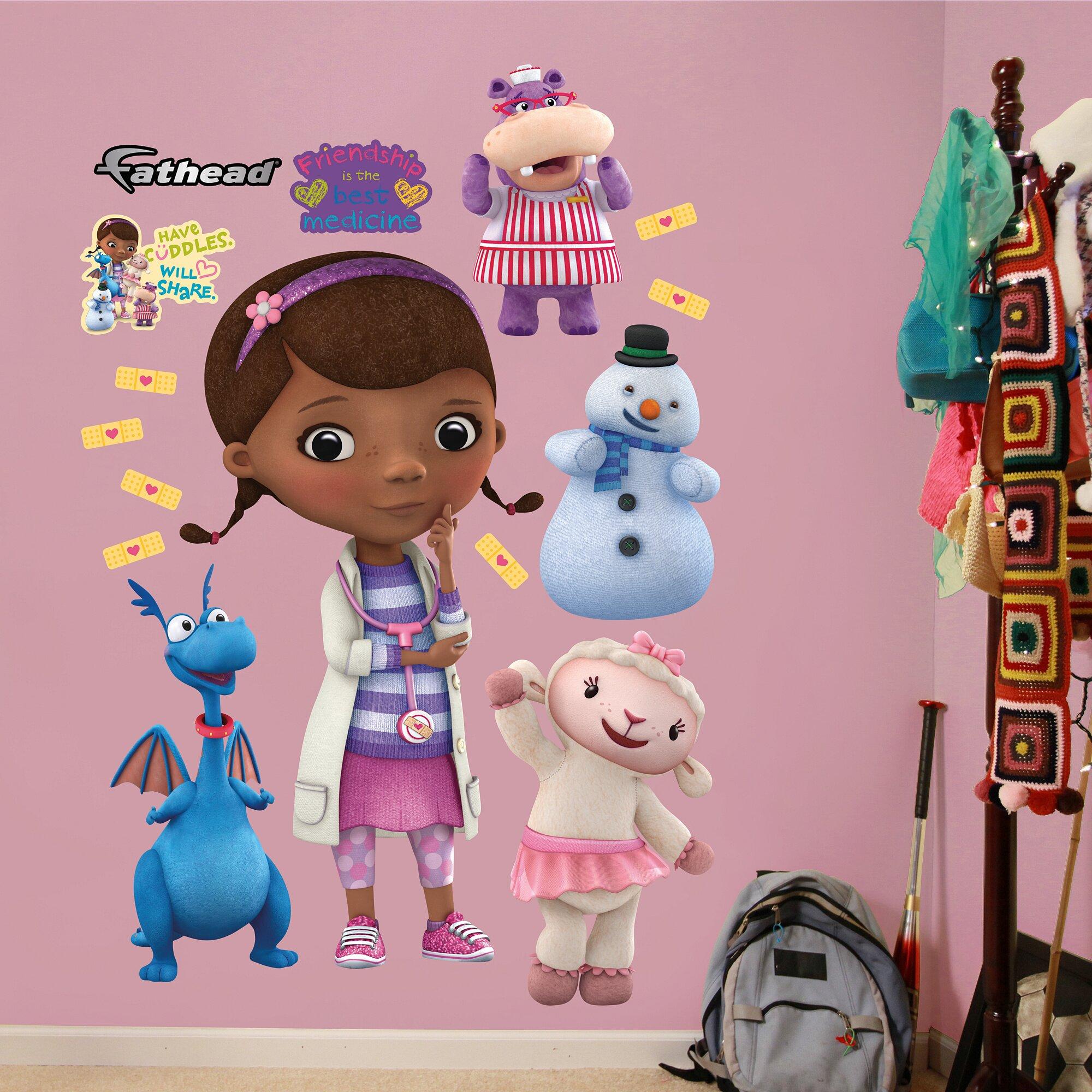 Fathead Disney Doc Mcstuffins Wall Decal Reviews Wayfair