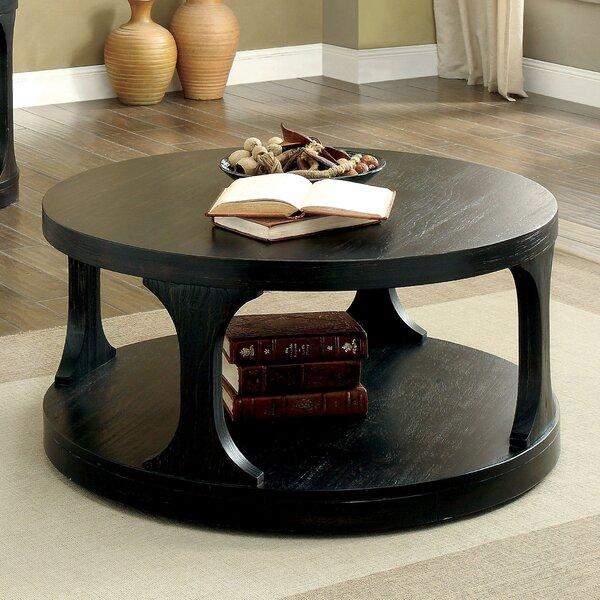 red barrel studio haywood transitional coffee table | wayfair
