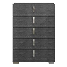 Salerno 5 Drawer Chest by Brayden Studio
