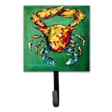 Crab Two Snaps Leash Holder and Key Hook by Caroline's Treasures