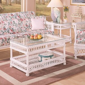 Bar Harbor Coffee Table Set by Spice Islands Wicker