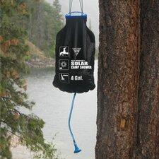 solar powered hanging outdoor shower