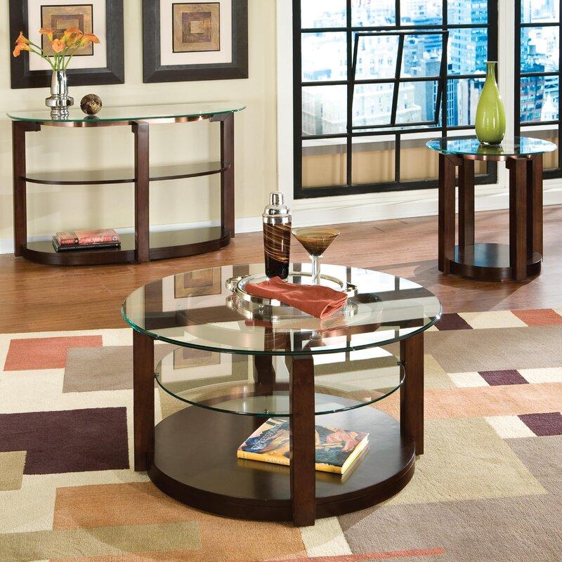 standard furniture coronado coffee table set & reviews | wayfair