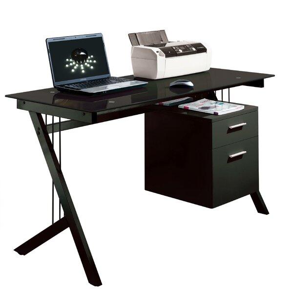 home & haus sleek computer desk & reviews | wayfair.co.uk