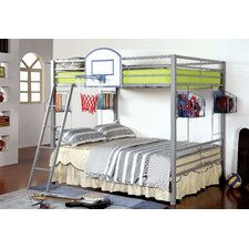 Sporty Full over Full Bunk Bed by Hokku Designs