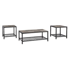 Frederiksberg 3 Piece Coffee Table Set by World Menagerie