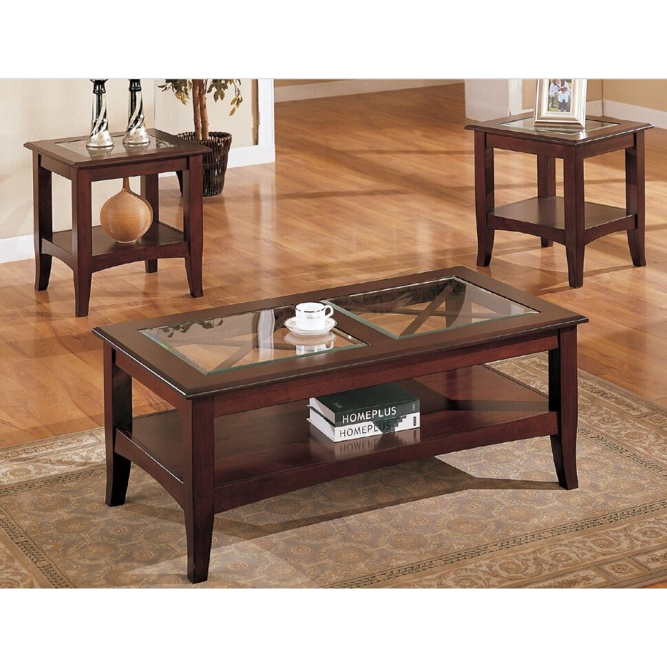Sherwood 3 Piece Coffee Table Set - A&J Homes Studio Sherwood 3 Piece Coffee Table Set & Reviews Wayfair