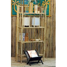 Porter 4 Tier Bamboo 53 Etagere Bookcase by Bay Isle Home