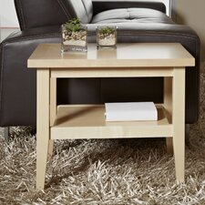 Wood End Table by Haaken Furniture