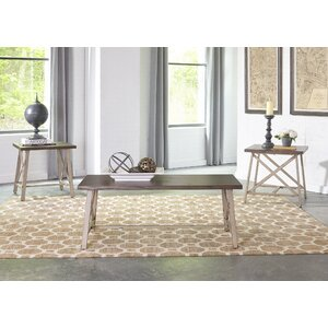 Burnley 3 Piece Coffee Table Set by Gracie Oaks
