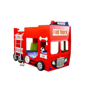 car & fire truck themed kids' beds you'll love | wayfair