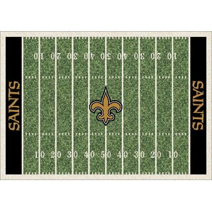 NFL Homefield New Orleans Saints Football Indoor/Outdoor Area Rug  sc 1 st  Wayfair.com & New Orleans Saints Recliner | Wayfair islam-shia.org
