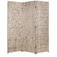 Sterling 72 x 63 3 Panel Room Divider by Screen Gems