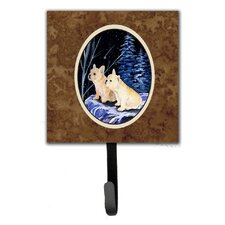 Starry Night French Bulldog Leash Holder and Wall Hook by Caroline's Treasures