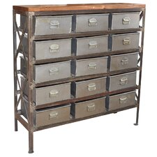 Lalit Art and Craft 15 Drawer Chest by Porter International Designs