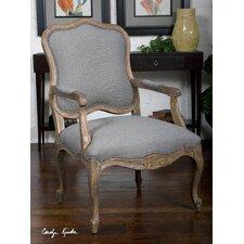 Willa Steel Armchair by Uttermost