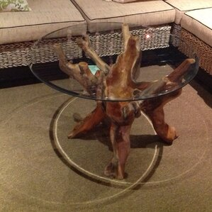tree root coffee table | wayfair