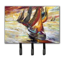Sails Sailboat Key Holder by Caroline's Treasures