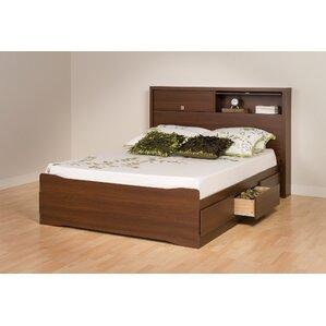 coal harbor storage platform bed - Drawer Bed Frame
