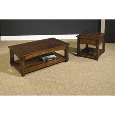 Tacoma 3 Piece Coffee Table Set by Hammary