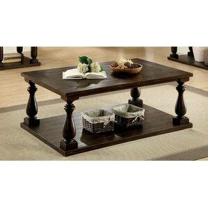 transitional style coffee table | wayfair