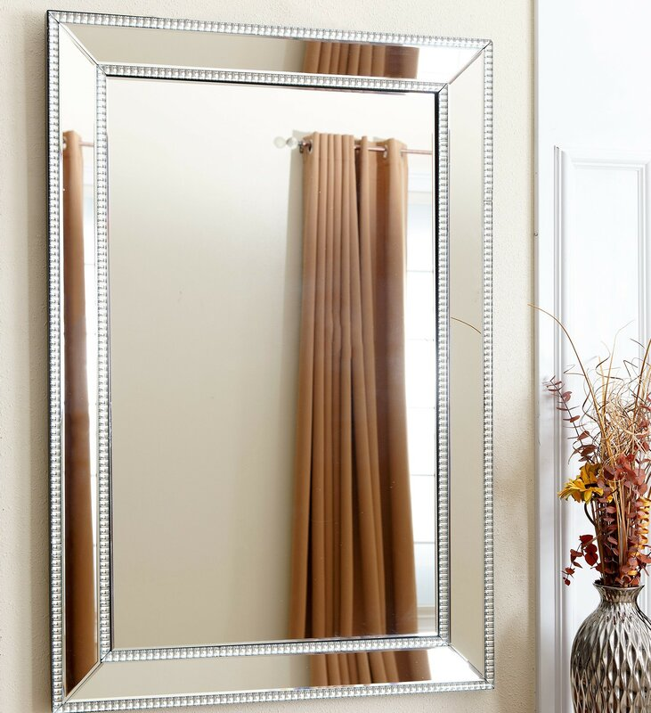 Willa Arlo Interiors Dimas Traditional Rectangle Wall Mirror Reviews