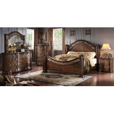 Boulogne Wood Panel Customizable Bedroom Set by Roundhill Furniture