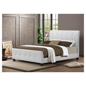 albury upholstered platform bed - Padded Bed Frame