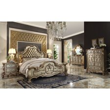Perales Sleigh Customizable Bedroom Set by Astoria Grand