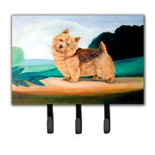 Norwich Terrier Leash Holder and Key Hook by Caroline's Treasures