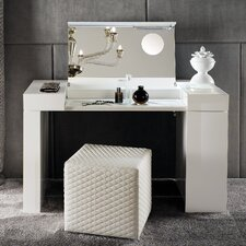 Nightfly Latte Vanity Set with Mirror by Rossetto USA