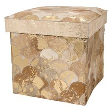 Bezu Cube Leather Ottoman by Willa Arlo Interiors